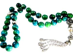 tasbeeh komboloi worry beads chrysocolla 12mm beads