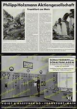 orig. Reklame Bauwesen Holzmann AG Frankfurt Bagdadbahn Reichsautobahn Köln 1939