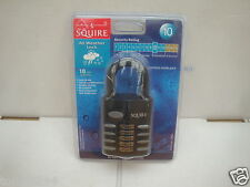 SQUIRE CP60 HIGH SECURITY OPEN SHACKLE COMBINATION PADLOCK RATED 10