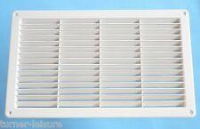 "PLASTIC AIR VENT  14 1/2"" x 8 3/4""  370 x 220 inc insect net caravan motorhome"