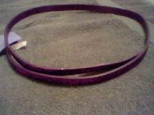 Brand New Girl'S M/L Purple Sparkly Belt