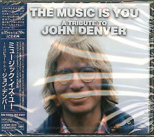 V.A.-THE MUSIC IS YOU A TRIBUTE TO JOHN DENVER-JAPAN CD F30