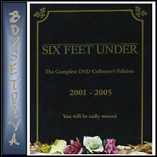 SIX FEET UNDER - COMPLETE HBO SEASONS 1 -5 COLLECTORS EDITION **BRAND NEW BOXSET
