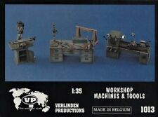 VERLINDEN 1013 - WORKSHOP MACHINES & TOOLS - 1/35 RESIN KIT
