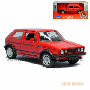 1:36 VW Golf I GTI Model Car Alloy Diecast Toy Vehicle Collection Kids Gift Red