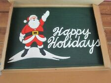 Santa Claus Happy Holidays Doormat Door Mat