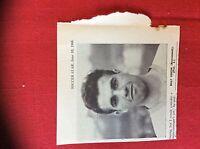 m2M ephemera 1966 football picture billy coxon bournemouth