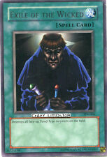 YU-GI-OH EXILE OF THE WICKED PROMO SILVER RARE MINT TP4-008