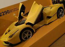 BIG FERRARI LaFerrari RECHARGEABLE RADIO REMOTE CONTROL CAR 1:14 Auto Doors