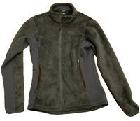 REI Women's Purple/Gray Jacket Furry Full Zip Up Side Pockets Size Small