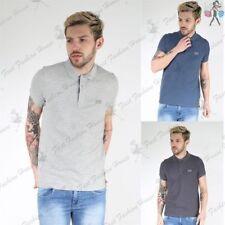 Camicie casual e maglie da uomo elasticizzate con colletto