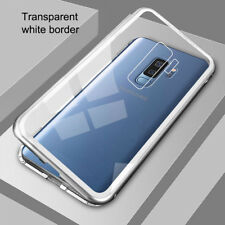 Magnetic Adsorption Tempered Glass Case Cover For Samsung Galaxy S9 Plus/S8 Plus