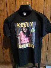 Saved By the Bell shirt Kelly Kapowski  large black short sleeve NWOT