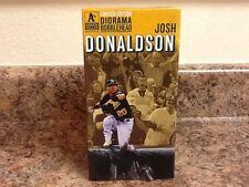 Toronto BlueJays Oakland Athletics A's JOSH DONALDSON DIORAMA BOBBLEHEAD SGA NEW