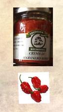 CREMA DI HABANERO 106 ML OLIO EXTRAVERGINE OLIVA SALSA PICCANTE RED SAVINA HOT