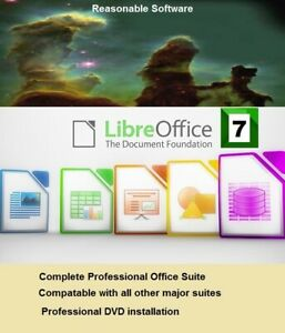 Libre Office Pro Professional Office Suite 2020 for all Windows platforms