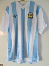 "Argentina 1990-1991 Home Football Shirt Size 42""-44"" /39254"
