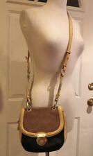 574e3c586d Pour La Victoire Messenger Bag Purse Crossbody Leather Black Brown Beige