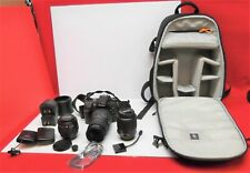 Nikon D7000 12.1MP Digital SLR Camera Kit - 3 Lenses - More! Please See Listing!
