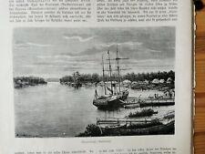 1875 Zeitungsdruck km /48 Australien Maryborough
