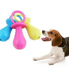 Pet Puppy Funny Chew Toys Cute Healthy Rubber Nipple Pacifier Dog Resistant F