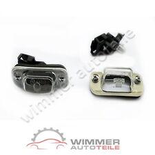 2x Kennzeichenbeleuchtung Nummernschildleuchte komplett – VW GOLF 3 III + CABRIO
