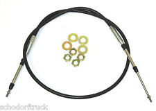 """Buyers Products 5203BBU072 72""""   Universal Control Cable,PTO,Valve Dump Truck"""