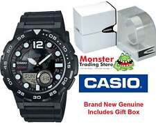 AUSSIE SELLER CASIO WATCHES AEQ-100W-1AVD WORLD TIME TELEMEMO 12 MONTH WARRANTY