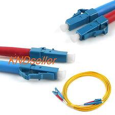 20M 60FT LC-LC Fiber Optic Cable Single mode 9/125 µm M/M Patch Cord Jumper