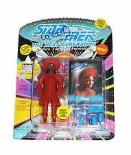 WHOOPI GOLDBERG HAND SIGNED AUTOGRAPHED STAR TREK TOY ACTION FIGURE WITH COA