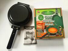 Flip Jack As Seen on TV Orgreenic Green NonStick Cookware Pancake maker