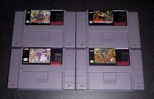 Dragon Quest 1 2 3 5 6 ( I II III V VI ) Game Set For SNES Super Nintendo -