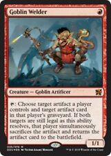 GOBLIN WELDER (Foil) Duel Decks: Elves vs. Inventors MTG Red Creature Mythic