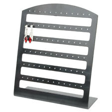 72 Holes Earrings Jewelry Display Rack Stand Holder Organizer Show Black New