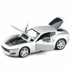 1/32 Maserati Alfieri Model Car Diecast Toy Vehicle Collection Kids Gift Silver