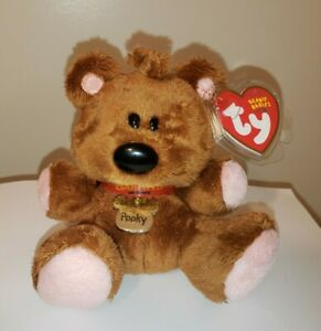 Ty Beanie Baby - POOKY the Teddy Bear (5 Inch)(Garfield) MINT with MINT TAGS
