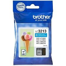 Tinta Brother Lc3213c Dcpj572/772/774/mfcj890/895dw Ori cian