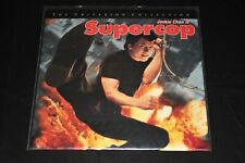JACKIE CHAN SUPERCOP LaserDisc CRITERION COLLECTION Open Copy LIKE NEW 1992