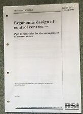 BS EN ISO 11064-2:2001 - Official British Standard