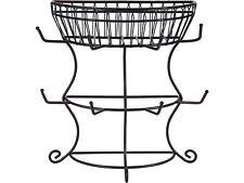Mikasa Gourmet French Countryside Mug Tree With Basket