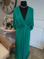 Marks and spencer dress Green Size 28 reg