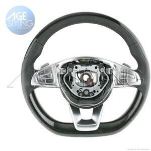 OEM Mercedes-Benz S550 S600 S63 S65 AMG ASH Wood HEATED Steering Wheel 2016-2018