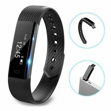 Bluetooth~Smart~Bracelet Watch Calorie Counter Fitness Activity Tracker Monitor#