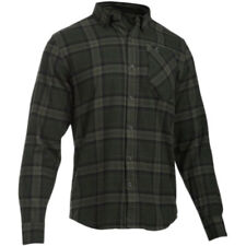 Under Armour UA Borderland Green Flannel Hunting Long Sleeve Shirt 2XL XL L or M