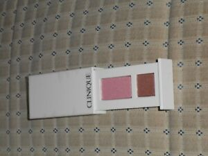 Clinique All About Shadow Duo 14 Strawberry Fudge 1.7g NEW