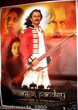 MANGAL PANDEY (2005) BOLLYWOOD POSTER Aamir Khan Rani Mukerji