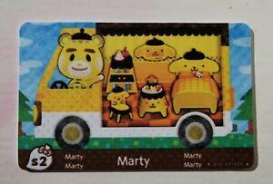 Marty RV Animal Crossing NfC Handmade Amiibo card