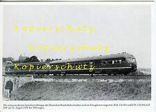 Akku-Triebwagen ETA 176 005 ESA 176 005 DB 1956 bei Melsungen AK (*7716)
