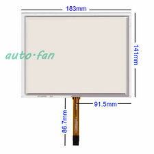 "8"" 4wire Resistive Touch screen Panel Digitizer (4:3) for AT080TN52 V1 183*141mm"