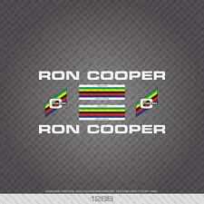 01288 Ron Cooper Bicycle Stickers - Decals - Transfers